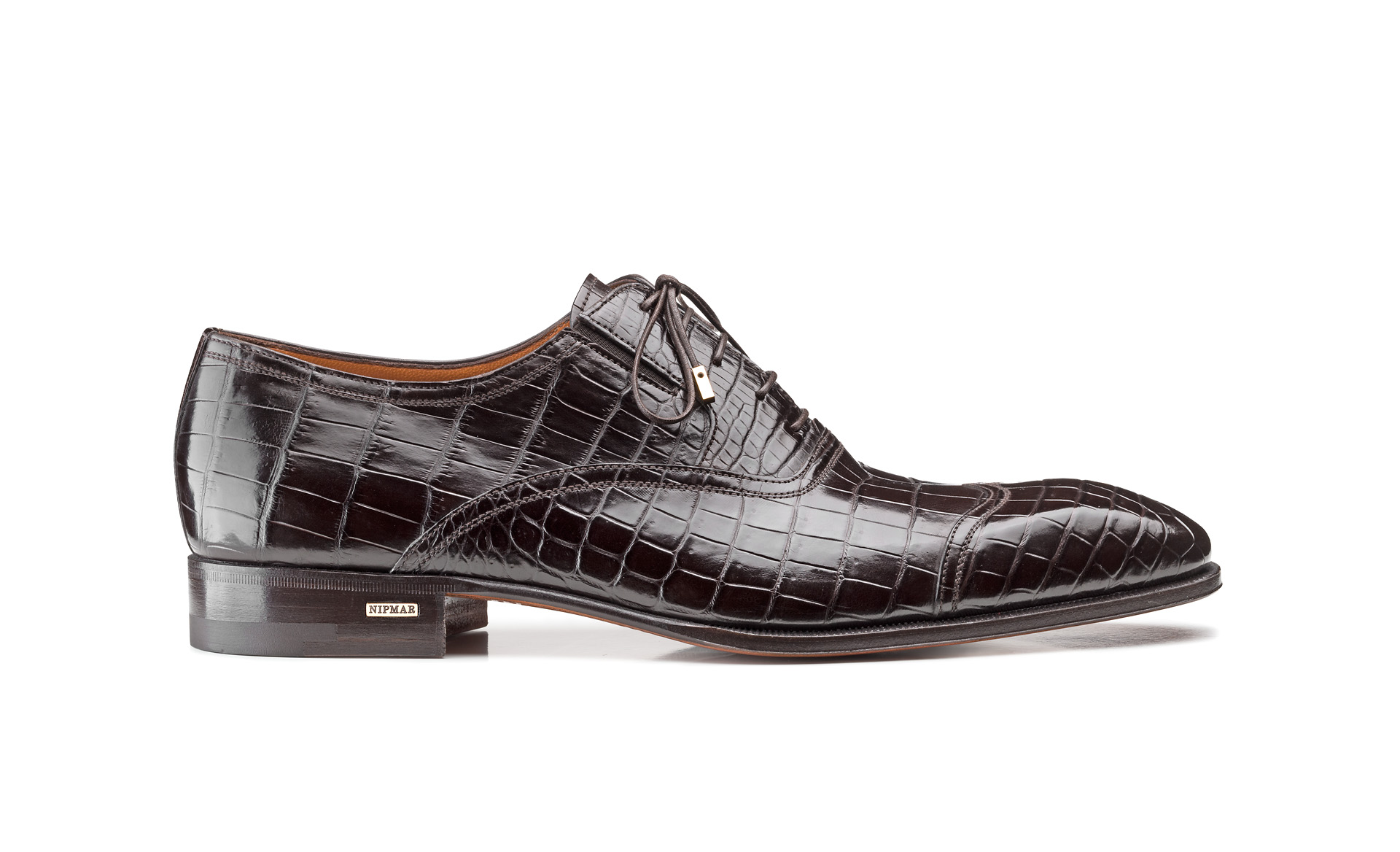 Fine Croco Oxfords